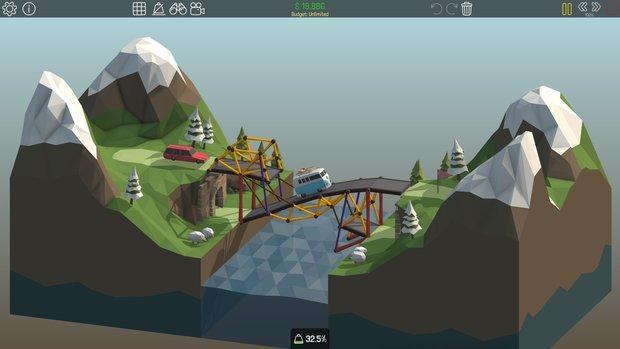 『Poly Bridge』2