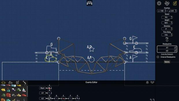 『Poly Bridge』1