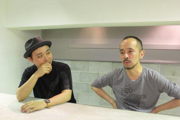 AC部 (左)板倉俊介さん(右)安達亨さん 2