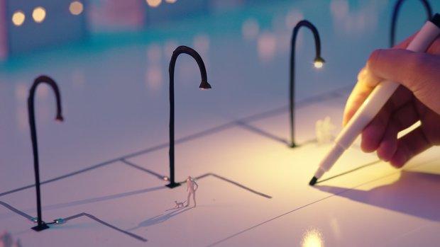 「光を灯す/future with bright lights」1
