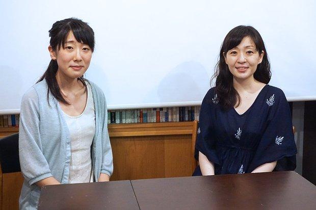左:『あげくの果てのカノン』米代恭さん 右:村田沙耶香さん