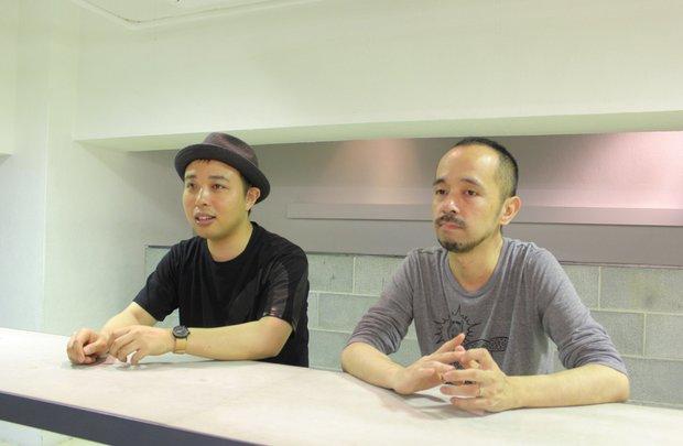 AC部 (左)板倉俊介さん(右)安達亨さん