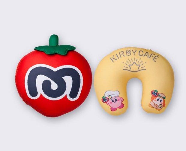 マキシムトマト スパンテックス クッション&ネックピロー