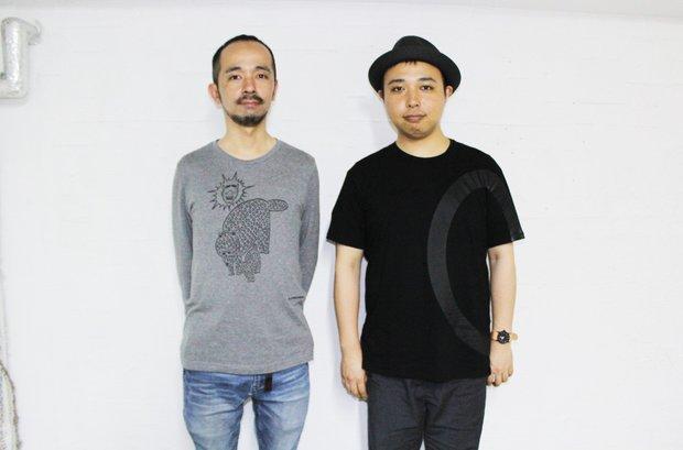 AC部 (左)安達亨さん(右)板倉俊介さん