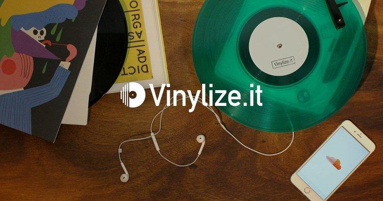 SoundCloudの曲をレコードに!  Vinylize.itでファンの要望を具現化