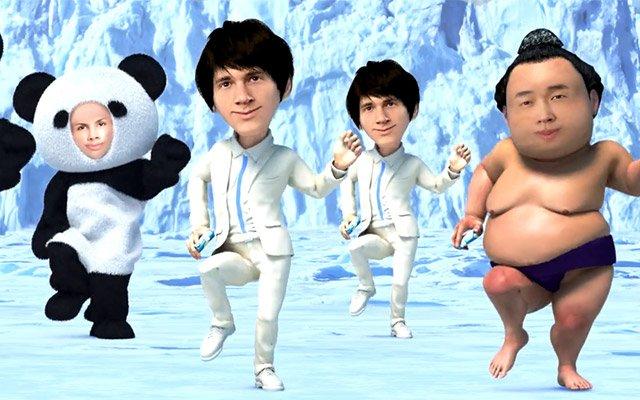 「あなたの顔」で赤ちゃんやパンダが踊り出す!! 強烈なインパクトに暑さを忘れる
