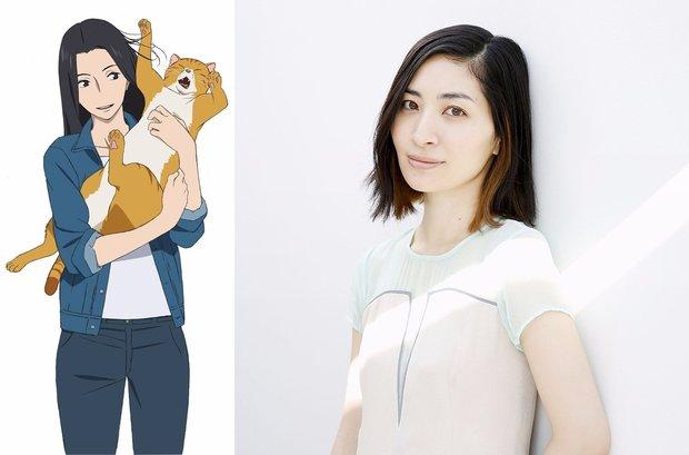 TVアニメ『舟を編む』 林香具矢(CV.坂本真綾)