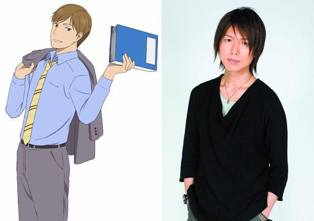 TVアニメ『舟を編む』 西岡正志(CV.神谷浩史)