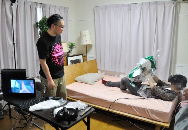 「アダルトVRエキスポ2016」VRJCCブース『なないちゃんとあそぼ!』