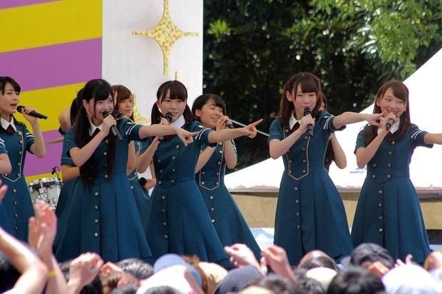 欅坂46「手を繋いで帰ろうか」@「TOKYO IDOL FESTIVAL 2016」(TIF2016)1