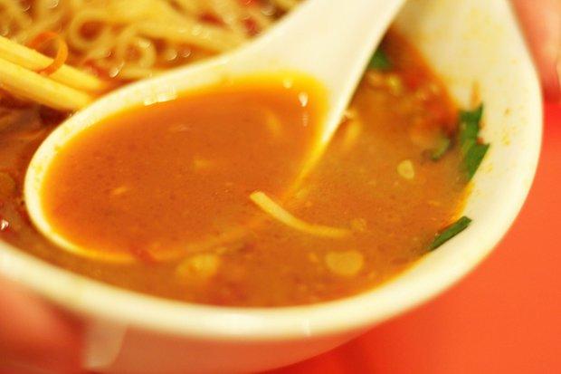 「台湾ラーメン」スープ