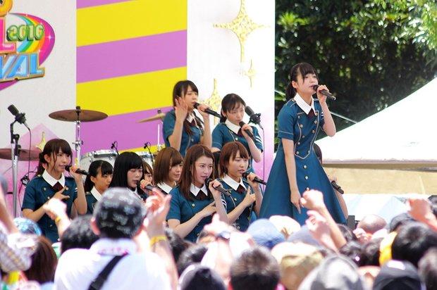 欅坂46「サイレントマジョリティー」@「TOKYO IDOL FESTIVAL 2016」(TIF2016)2