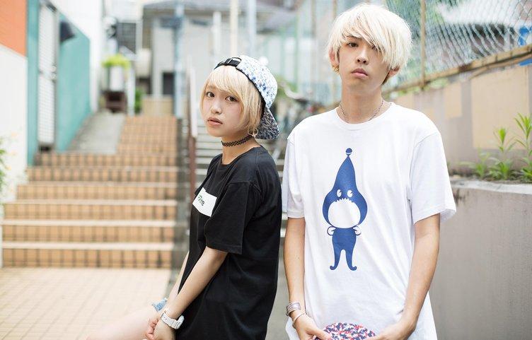 ラッパーSALU、MC MIRIがモデルに! ファッションブランドPOPisHereに新作