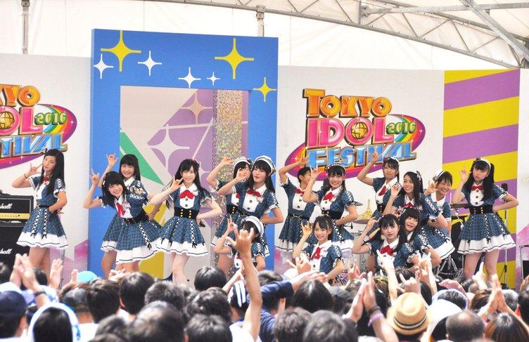 【TIF】AKB48 Team 8レポ 出演アイドル エリボンericaがその熱狂に密着