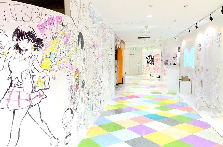 TRIGGER今石洋之、すしおらが休業前の渋谷PARCO壁面にペインティング