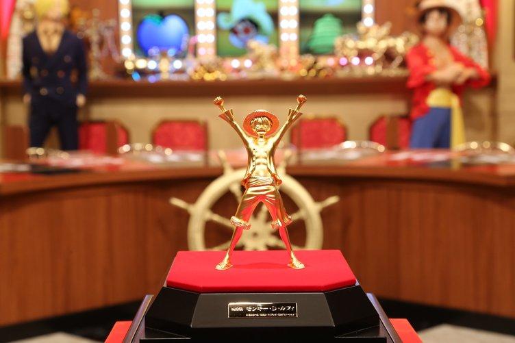 『ワンピース』純金製ルフィのフィギュアが眩しい… 値段は2000万円