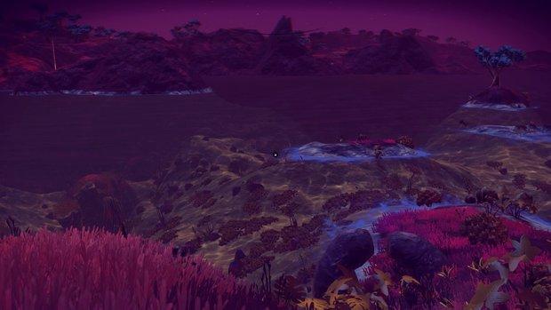 「ロコピンベルあたま星」 着陸したときは夜。目の前にはビーチが! 初めての海!