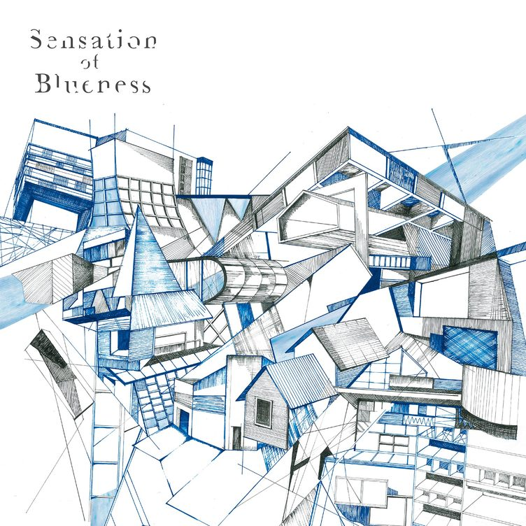 In the blue shirt『Sensation Of Blueness』 初CD作品で原点回帰