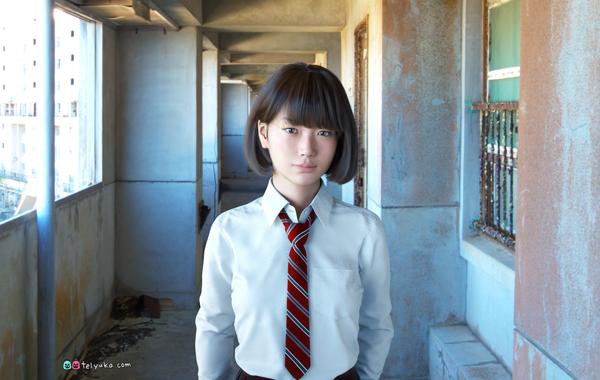 あのリアルすぎる3DCG女子高生Sayaが動く! 「CEATEC JAPAN」で8K動画公開
