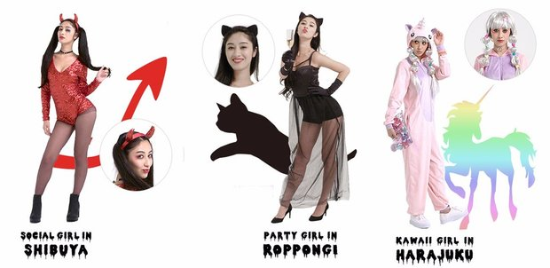 「H&M」ハロウィンの仮装ファッション動画 2