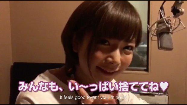 「萌える・萌えない・ビンカンゴミ箱」動画2