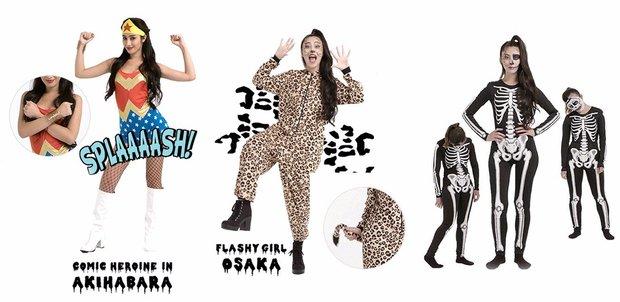 「H&M」ハロウィンの仮装ファッション動画 3