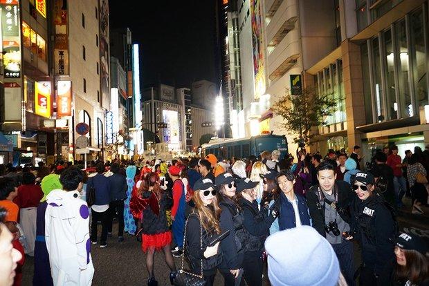 10月29日の渋谷ハロウィンの様子</