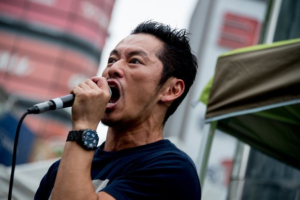 「TOHYO CYPHER」出演時の般若さん/Photo by 市村岬(@promontorii)