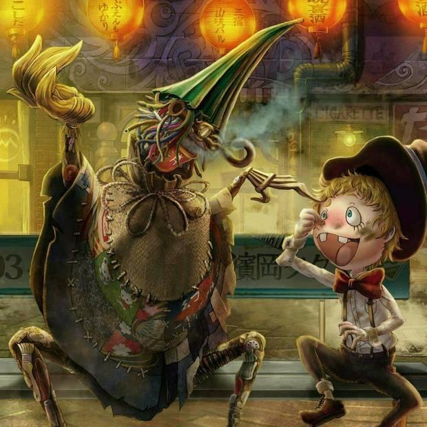 絵本『えんとつ町のプペル』ゴミ人間の「プぺル」と煙突掃除屋の少年