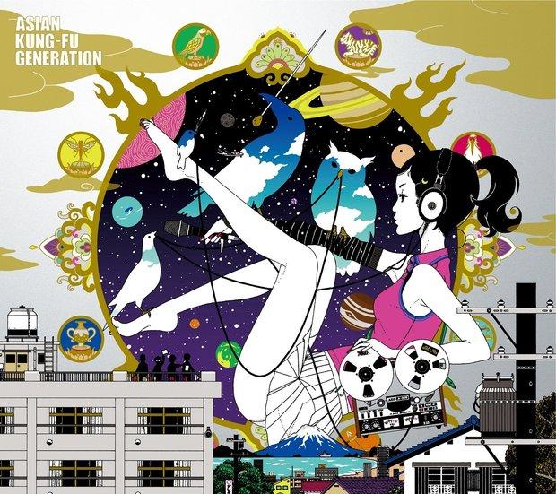 ASIAN KUNG-FU GENERATION『ソルファ』再レコーディング盤 初回生産限定盤ジャケット