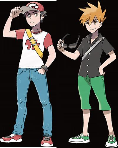 【サンムーン】レッドとグリーン再登場で全ポケモンファンに衝撃