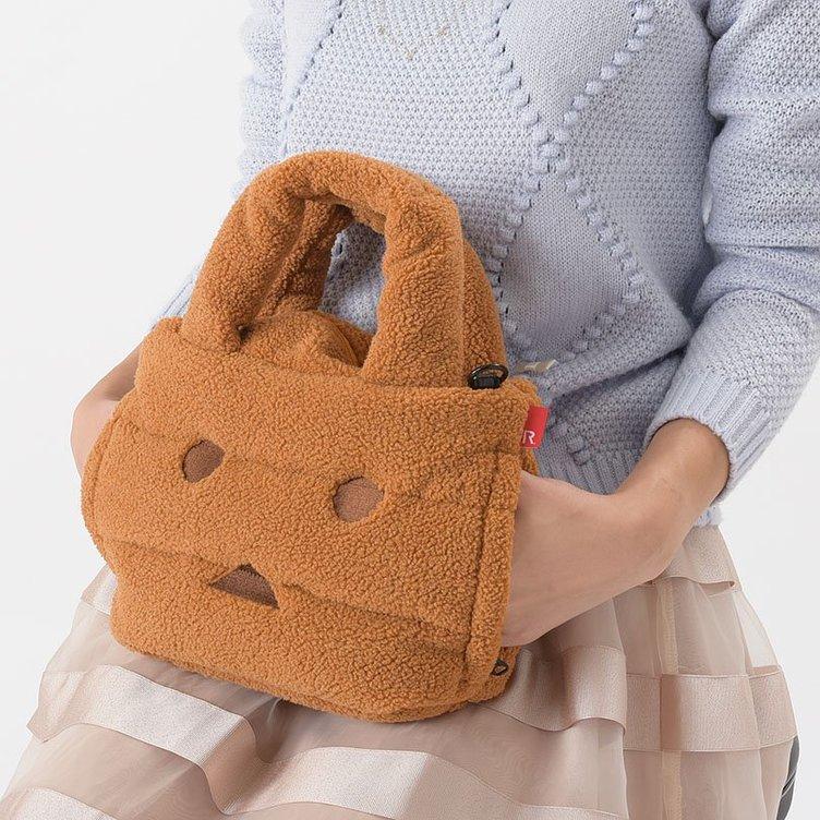 『よつばと!』ダンボーがモコモコのバッグに! 手を入れると温まる