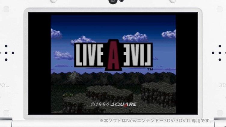 RPGの金字塔『ライブ・ア・ライブ』3DS向けに配信! 1000円以下で名作続々