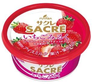 フタバ食品「サクレ いちごミルク」/画像はフタバ食品Webサイトより