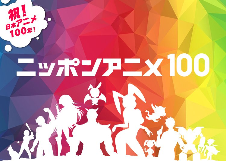 NHKが日本アニメ100年の歴史を振り返る 視聴者がベストアニメ選出