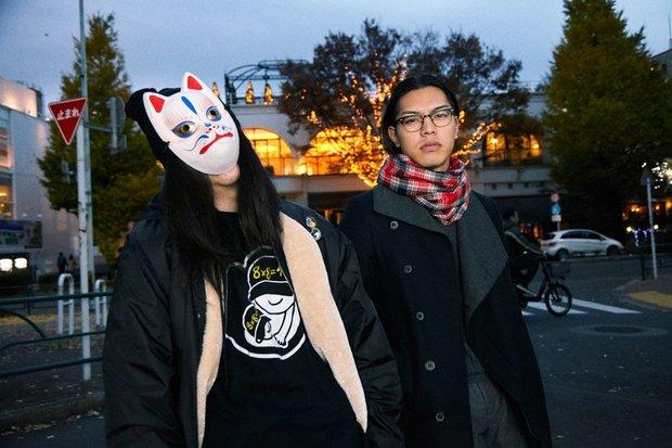 ハハノシキュウ(左) Amateras(右)