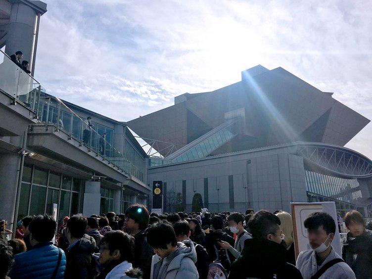 【C91】冬のコミケ開幕! 過去最大の会場、叶姉妹の参加も待たれる