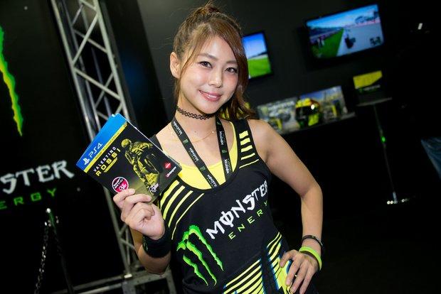 「東京ゲームショウ2016」ブースのコンパニオンさん 2