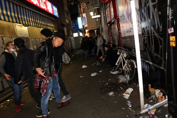 渋谷の雑踏