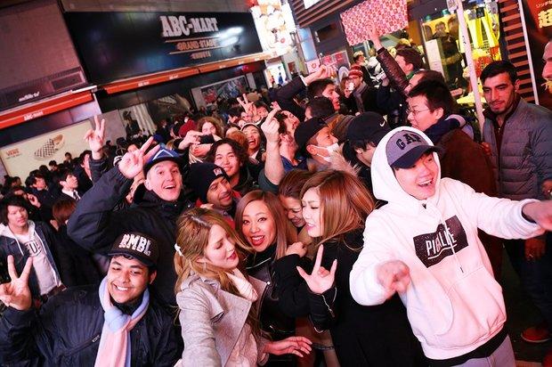 渋谷の2017年カウントダウン画像4
