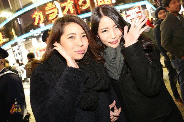 2017年カウントダウン渋谷の美女画像