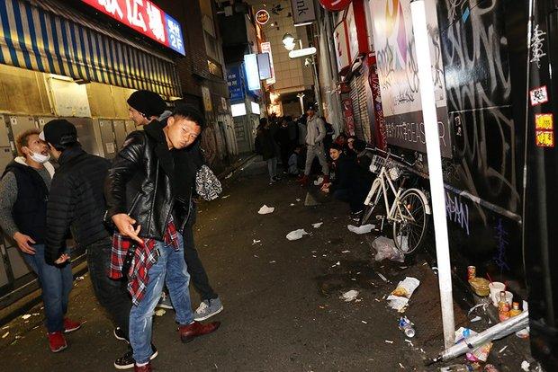 渋谷の2017年カウントダウン画像3