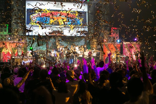 (C) BSスカパー! BAZOOKA!!! 第10回高校生RAP選手権in日本武道館