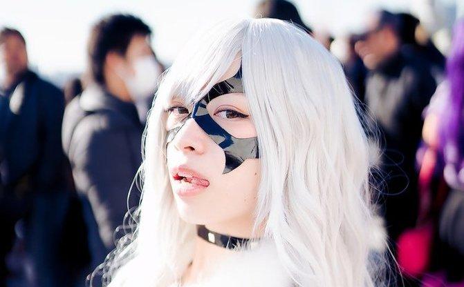 【写真】エナメル妖艶コスプレイヤー 小鞠こまち コミケで会った可愛い子 Vol.4