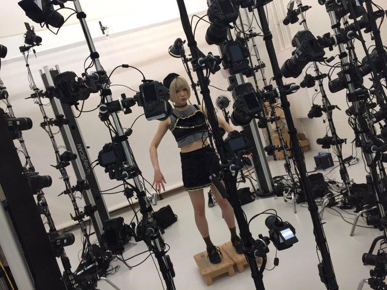 アイドルが84台のカメラで3Dデータに! 妄キャリMVの舞台裏を独占公開