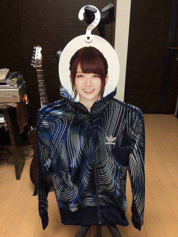 橋本奈々未さんのハンガー/ジャージ(トーニャハーディング私物)