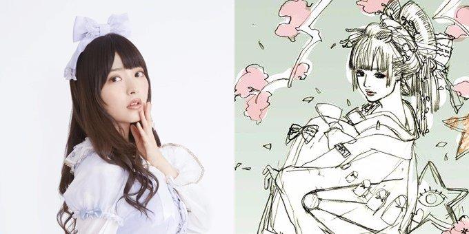 上坂すみれが浮世絵に 「マクロス」江端里沙描き下ろしで約65万円… !?