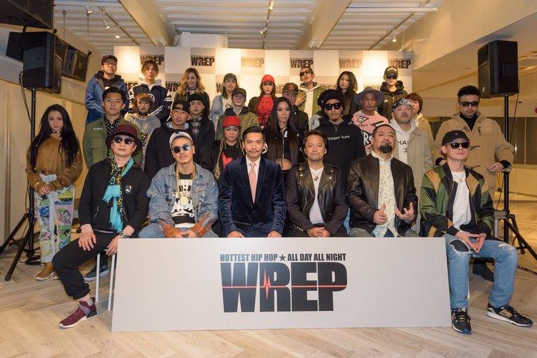 Zeebraによる日本初24時間ヒップホップ専門ラジオ局「WREP」始動!