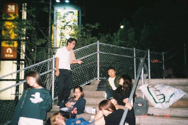 閉鎖前の宮下公園