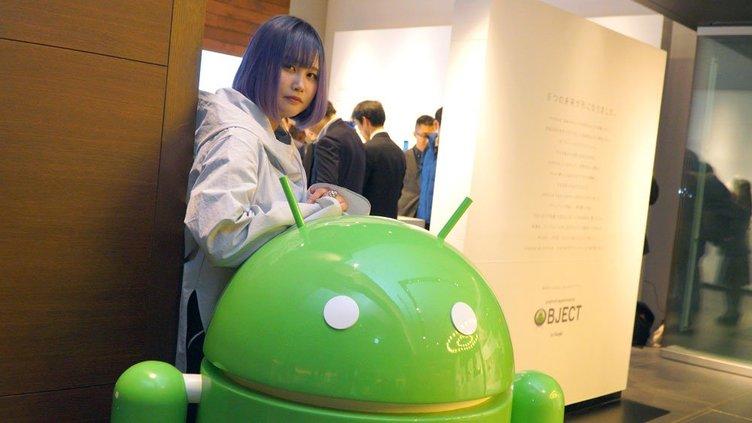 きゅんくんと二子玉川 蔦屋家電のAndroid Experiments OBJECTの展示にいってきた